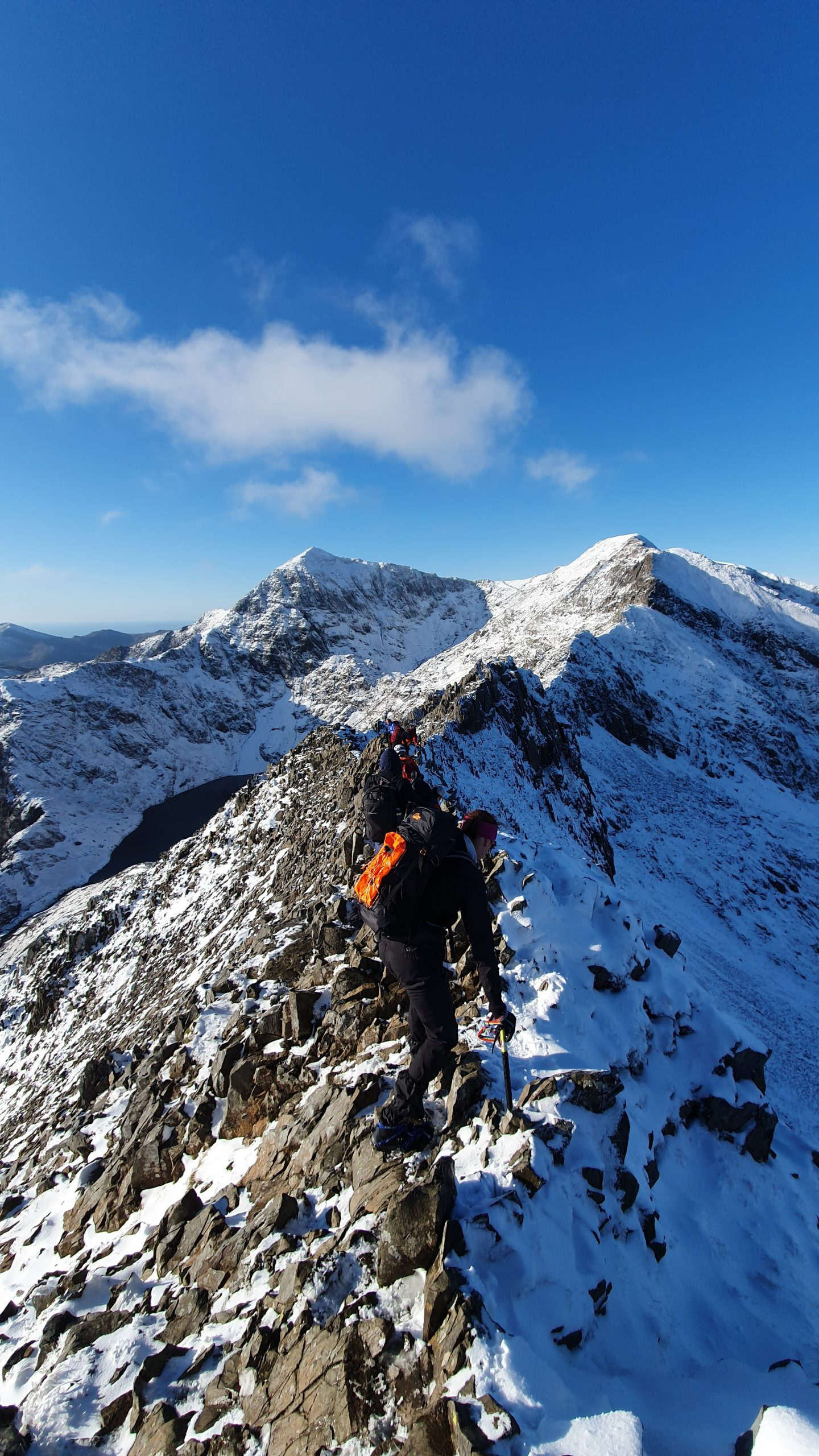 2020/21: Ben Lairig with Covid-19